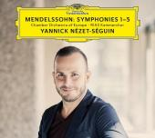 Album artwork for Mendelssohn: SYMPHONIES 1-5 / Nezet-Seguin