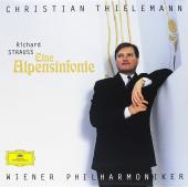 Album artwork for R STRAUSS:  EINE ALPENSINFONIE / Thielemann