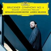 Album artwork for Bruckner: Symphony #4 / Nelsons
