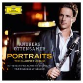 Album artwork for Andreas Ottensamer: Portraits-The Clarinet Album