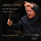 Album artwork for James Levine - Live at Carnegie Hall / Kissin, ME