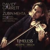 Album artwork for Timeless - Bruch & Brahms Violin Concertos / Garre