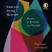 Album artwork for Chaconnes & Fantasies / Emerson String Quartet