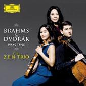 Album artwork for Dvorak & Brahms Piano Trios  ZEN Trio