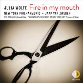 Album artwork for Julia Wolfe: Fire in My Mouth