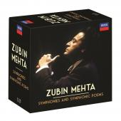 Album artwork for Zubin Mehta - Symphonies & Symphonic Poems