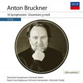Album artwork for Bruckner: 10 Symphonies / Chailly