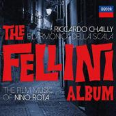 Album artwork for THE FELLINI ALBUM The Film Music of Nino Rota Chai