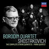 Album artwork for Shostakovich: String Quartets / Borodin Quartet