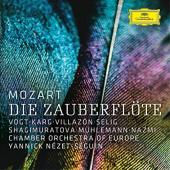 Album artwork for MOZART DIE ZAUBERFLOTE w/ Vogt, Karg, Villazon