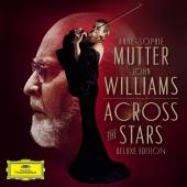 Album artwork for Across the Stars - Mutter plays John Williams DLX