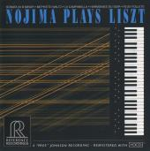 Album artwork for NOJIMA PLAYS LISZT