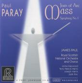 Album artwork for Paray: JOAN OF ARC MASS / SYMPHONY NO.1