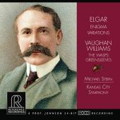 Album artwork for Elgar: Enigma Variations, Vaughan Willaims: Wasps