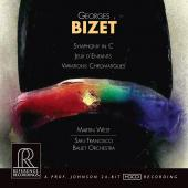 Album artwork for Bizet: Symphony, Jeux d'Enfants / West