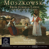 Album artwork for Moszkowski: FROM FOREIGN LANDS