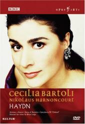 Album artwork for HAYDN CONCERT (DVD) / Bartoli