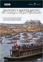Album artwork for Handel: Water Music (Manze)