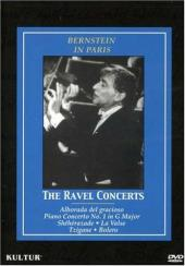 Album artwork for Bernstein in Paris - THE RAVEL CONCERTS