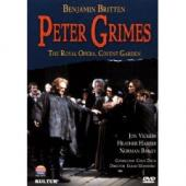 Album artwork for BRITTEN - PETER GRIMES (Vickers)