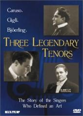 Album artwork for THREE LEGENDARY TENORS