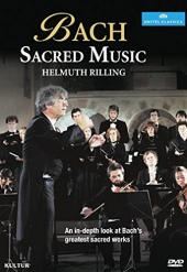 Album artwork for BACH: SACRED MUSIC (RILLING)