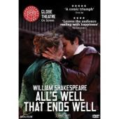 Album artwork for SHAKESPEARE: ALL'S WELL THAT ENDS WELL