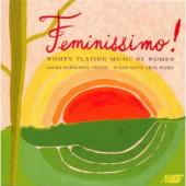 Album artwork for Feminissimo! Women playing music by women