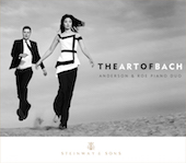 Album artwork for Art of Bach / Anderson & Roe Piano Duo