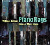 Album artwork for William Bolcom: Piano Rags