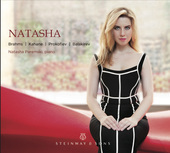 Album artwork for Natasha / Brahms, Kahane, Prokofiev