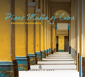 Album artwork for Piano Music of Cuba