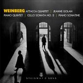 Album artwork for Weinberg: Piano Quintet, Piano Sonatina & Cello So