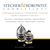 Album artwork for Stecher & Horowitz Commissions