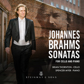 Album artwork for Brahms: Cello Sonatas Nos. 1 & 2