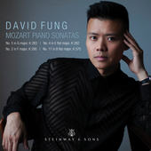 Album artwork for Mozart: Piano Sonatas Nos. 2, 4, 5, 17 / Fung