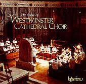 Album artwork for The Music of Westminster Cathedral Choir
