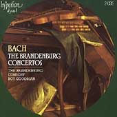 Album artwork for Bach: Brandenburg Concertos / Brandenburg Consort