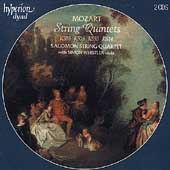 Album artwork for Mozart: String Quintets / Salomon Quartet, Whistle