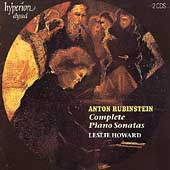 Album artwork for RUBENSTEIN - PIANO SONATAS