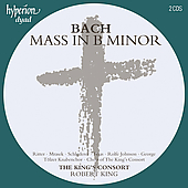 Album artwork for Bach: Mass in B Minor / Robert King, King's Consor