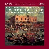 Album artwork for Lo Sposalizio. King's Consort, King (2 for 1)