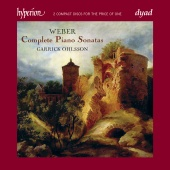 Album artwork for Weber: Complete Piano Sonatas / Ohlsson