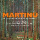 Album artwork for Martinu: Complete Music for Violin & Orchestra 4CD