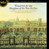 Album artwork for CONCERTOS FOR THE KINGDOM OF THE TWO SICILIES