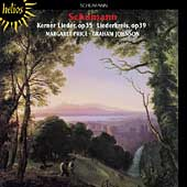 Album artwork for KERNER LIEDER, OP. 35 / LIEDERKREIS, OP. 39