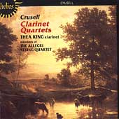 Album artwork for CUSELL: CLARINET QUARTETS