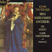 Album artwork for TAVERNER: MISSA MATE CHRISTI SANCTISSIMA