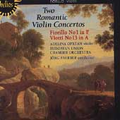 Album artwork for TWO ROMANTIC VIOLIN CONCERTOS