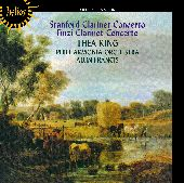 Album artwork for CLARINET CONCERTOS